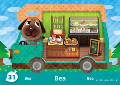 Bea (Animal Crossing Cards - New Leaf Welcome amiibo) amiibo card ...