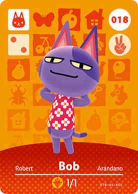 Image of: Crossing New Bob animal Crossing Cards Series 1 Amiibo Card Amiibo Life The Unofficial Amiibo Database Amiibo Life Bob animal Crossing Cards Series 1 Amiibo Card Amiibo Life