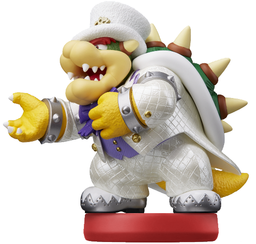 Bowser Wedding Outfit Super Mario Amiibo Figure Amiibo
