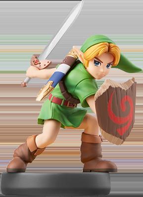 Young Link Super Smash Bros Amiibo Figure Amiibo Life