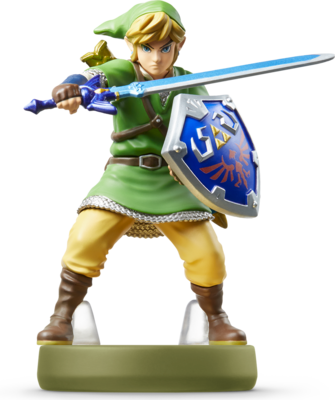 Link Skyward Sword The Legend Of Zelda Amiibo Figure